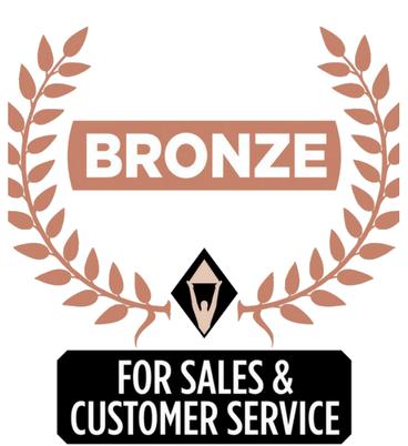 Stevie Bronze Winner
